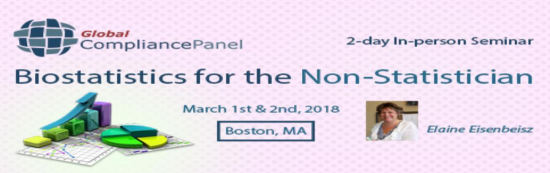 Statistics for Non-Statisticians Course   Biostatistics Boston 2018