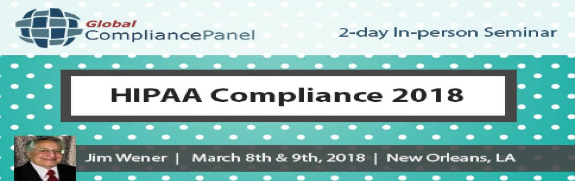 Book Online Tickets for HIPAA Risk Assessment Checklist | HIPAA , Metairie.     Overview:        This two day seminar takes the participants through HIPAA compliance from start to compliance.   The first presentation explains the history of HIPAA, why it came to being and its evolution. This cov