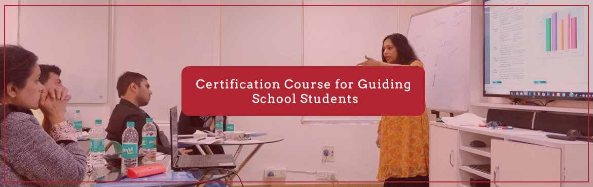 Book Online Tickets for Certification Course for Guiding School , New Delhi. For a student 10th & 12th standards are a milestone where he/she needs to take crucial career decisions, hence Career Counselling plays a very important role.  It becomes the responsibility of every counselor/ counselor to be to underst
