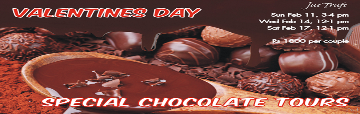 Book Online Tickets for Valentines Chocolate Tour- 11th Feb, Bengaluru. An organized Belgian chocolate tour!!! The tour will be entirely experiential with lots of hands on activities. These Include: Learning to manipulate and temper Belgian chocolate from our master chocolatiers Learning to create your own personalized t