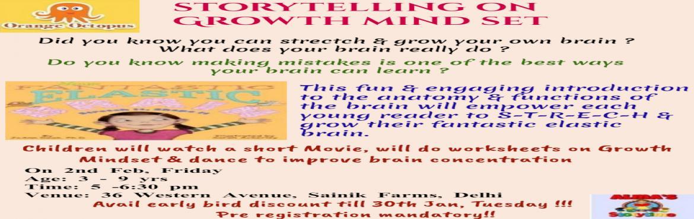 Storytelling on Growth Mindset