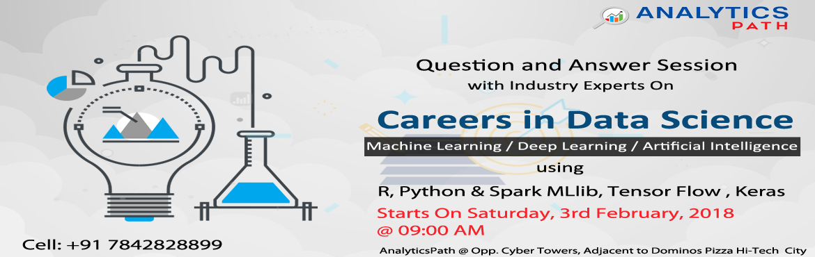Pick the best career in the profession of Data Science with Analytics Path Data Science Training In Hyderabad.