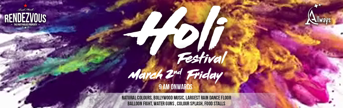 Holi Festival At Rendezvous