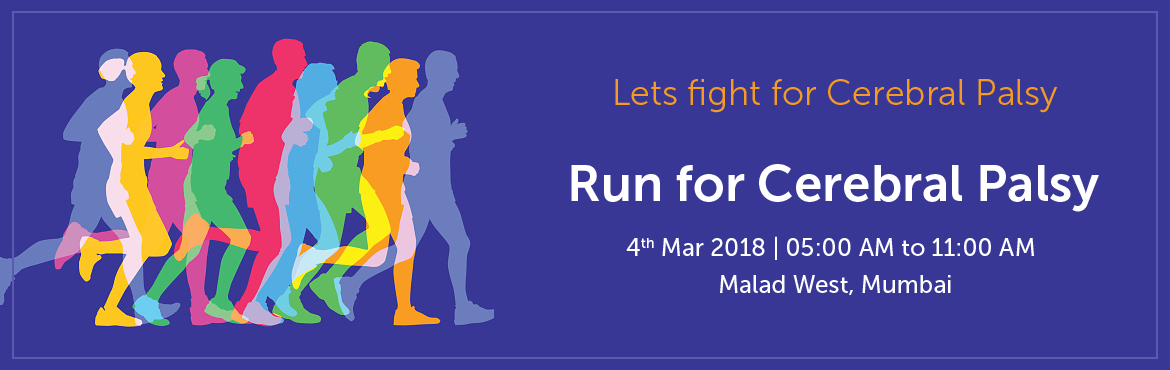 Book Online Tickets for Run for Cerebral Palsy, Mumbai.  Footprints - A social initiative in association with Run4u is organizing its first event of 2018 and that too with a cause \