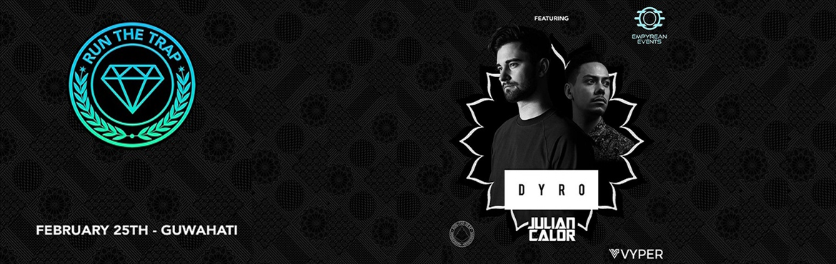 Book Online Tickets for Run The Trap India Tour w/ Dyro, Julian , Guwahati.   Like all electronic genres, the trap & bass community in India has been exploding off lately. And now here\'s one more reason for fans to rejoice: popular trap platform ,YouTube channel Run The Trap is coming to India, and getting some fan