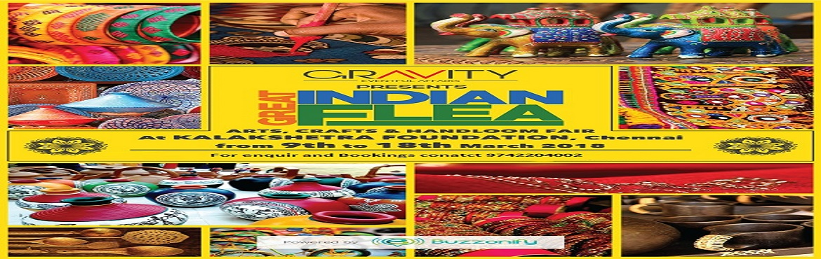Book Online Tickets for Great Indian Flea, Chennai. Gravity Eventful Affairs presents Great Indian Flea \