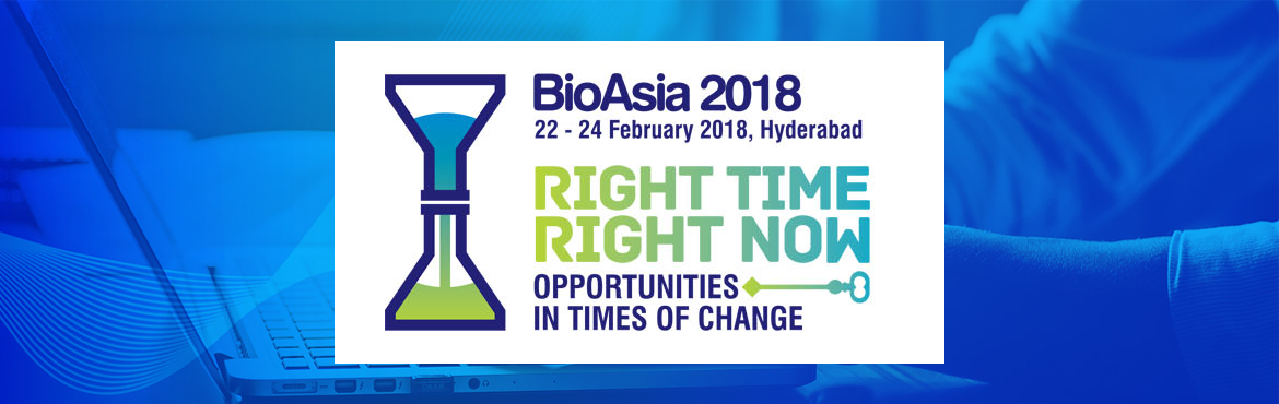 Book Online Tickets for BioAsia 2018, Hyderabad. BioAsia 2018, is all set to bring together the global industry leaders, researchers, policy makers, innovators, and investors together on one platform discussing the new opportunities and develop strategies to succeed in emerging markets like India.