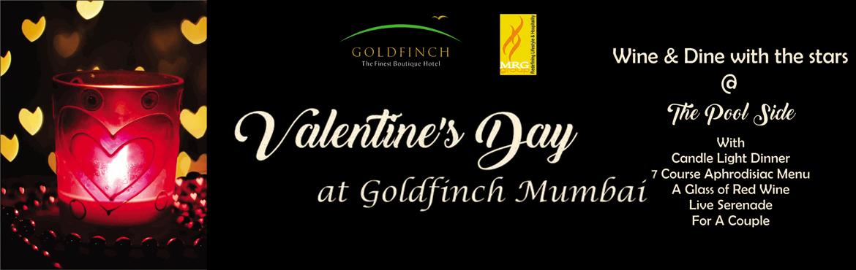 Book Online Tickets for Valentine day  @ Goldfinch, Mumbai.