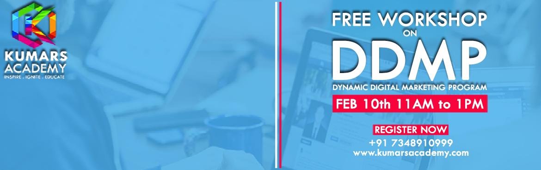 Free Advanced Digital Marketing Workshop for Beginners.