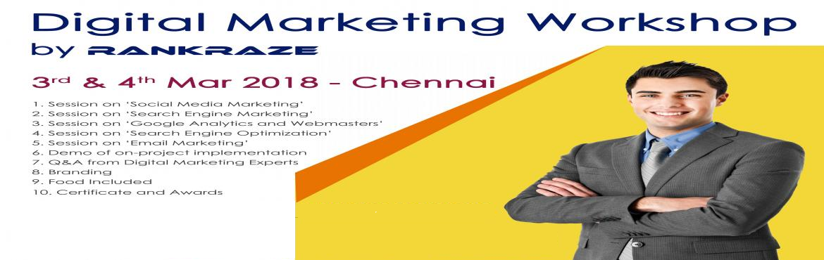 Digital Marketing Workshop @Chennai