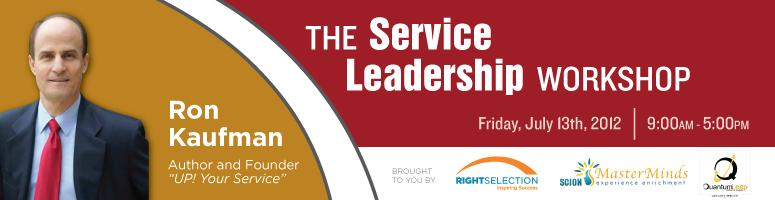 Book Online Tickets for Ron Kaufman  - The Service Leadership Wo, Bengaluru. Program Overview