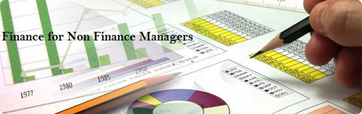 Book Online Tickets for Finance for Non-Finance Managers, Mumbai. Description: Developing The Finance Sense  It is important for managers from all streams to understand the financial implications of their decision making. It is equally imperative for them to analyse the corporate financial environment.