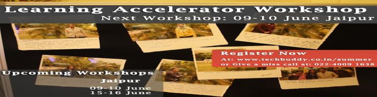 Book Online Tickets for Learning Accelerator Workshop Jaipur, Aj, Jaipur. A 2 Day experience designed to transform your learning for a positive paradigm shift in your work & life