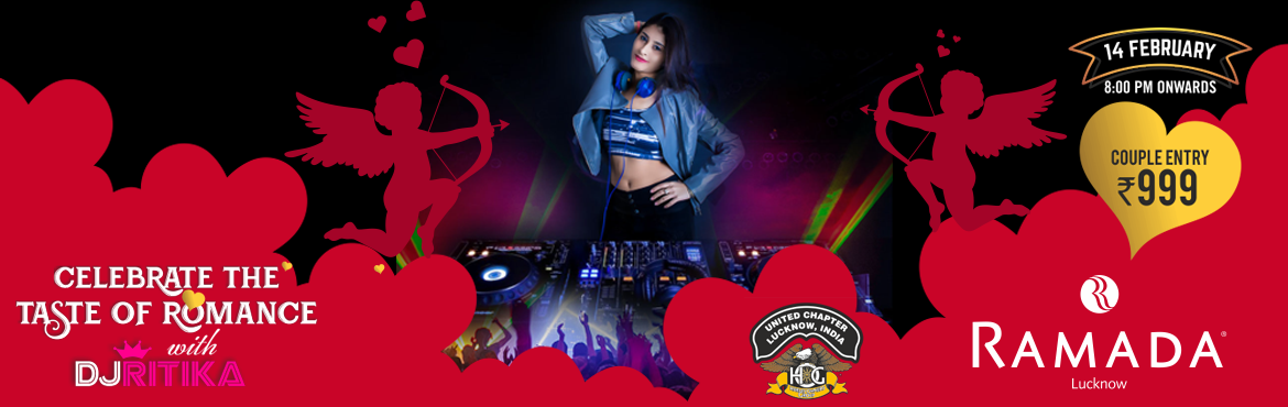Book Online Tickets for Celebrate The Taste Of Romance, Lucknow.   Grab the opportunity to groove with the love of your life as the sensational female DJ is being roped in to spin the most amazing and spectacular beats. Here is your chance to impress them with your flawless dance moves as female DJ RS would b