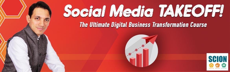 Social Media TAKEOFF (8-Weeks LIVE Online Course)
