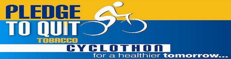 Book Online Tickets for PLEDGE TO QUIT TOBACCO CYCLOTHON, Bengaluru. Come cycle and support the cause of\\\