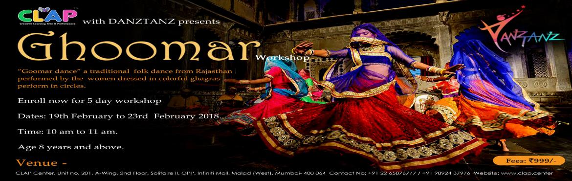 Book Online Tickets for Ghoomar Workshop, Mumbai. \