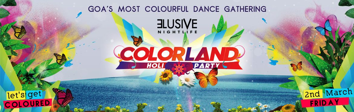 Goas biggest holi party celebrating 3 years of madness
