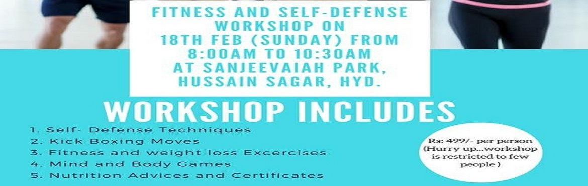 Book Online Tickets for FITNESS AND SELF DEFENCE WORKSHOP, Hyderabad. ALLIANCE OF HEALTHCARE PROFESSIONALS In Association with Fitomenex presents, the best ever Fitness and self defence workshopi.e on 18th feb 2018Get tough in the toughest situations with our self defence techniquesGet In. Get Fit. Get on with Life.Sta