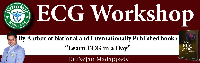 Book Online Tickets for ECG Workshop - Dr.Sajjan Madappady - May, Mangaluru.  ECG Workshop ECG workshop By Dr.Sajjan Madappady, Author of Internationally published Book \