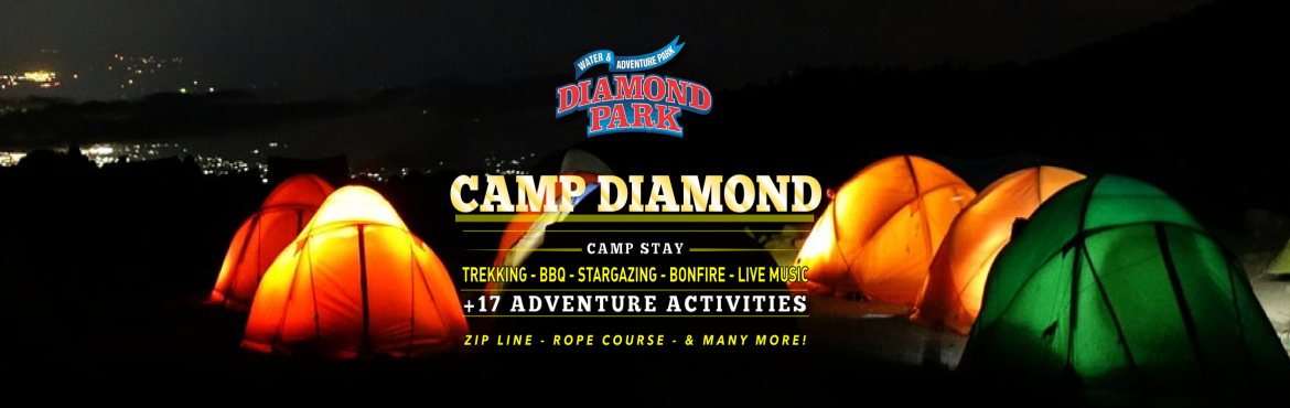 Book Online Tickets for Night Camping, Pune.   About the Activity:    Camp Diamond is in the vicinity of Pune. It is 15 Min. from Pune Airport, plays a scenic host for camp site The overnight stay will be in tents nest to the Camp Diamond. Depending on the group size, 2 men, 4 men or