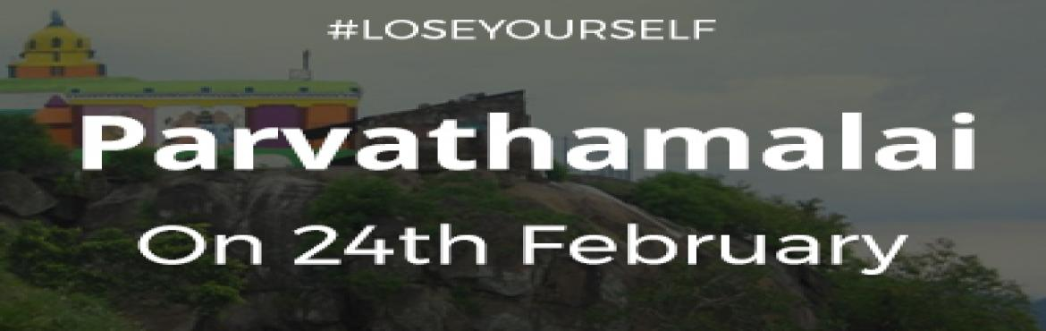 Book Online Tickets for Parvathamalai Trek 1D, Chennai. CityWiz is back with its latest #loseyourself series in CitySocial. This time we shall be exploring the Himalayas of Tamil Nadu: Parvathamalai. Date: 24th January, 2018 Time: 5:30 AM to 8 PM Pick up point: Based on Majority Location Drop point: CMBT