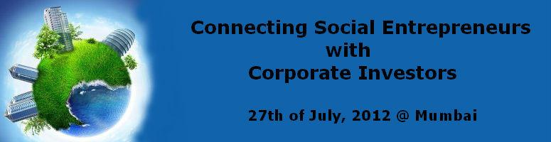 Book Online Tickets for Connecting Social Entrepreneurs with Cor, Mumbai. Indian Centre for CSR (ICCSR) is a Not for Profit organization and is Headquartered at Mumbai, India. Rajesh Tiwari is founder of Indian Centre for Corporate Social Responsibility (ICCSR). Earlier, he founded Tikona Digital Networks Pvt Ltd in 2008 a