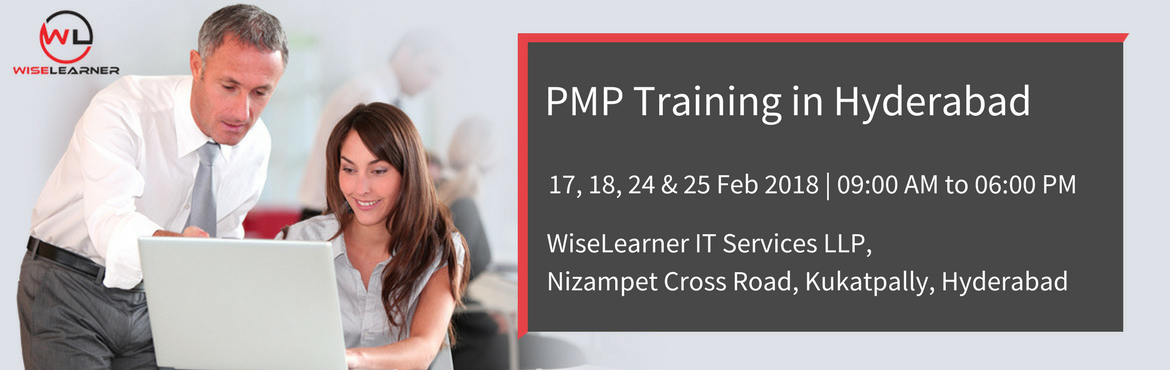 Book Online Tickets for PMP Training Program with best Tutors in, Hyderabad. OVERVIEW Project Management Professional (PMP®) based on PMBOK5 is the most important industry-recognized certification for project managers. Professionals possessing certification gain credibility with the customers for possessing a solid founda