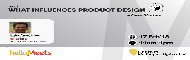 Book Online Tickets for Product Design Workshop-Hyderabad, Hyderabad.  About the Speaker: Srinivas \