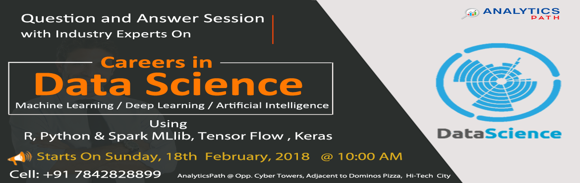 Enter Into The World Of Data Science By Enrolling For The Most Interactive Free Data Science Workshop At Analytics Path On 18th Feb, 10 AM.