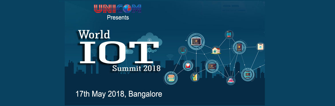 Book Online Tickets for World IoT Summit Bangalore 2018 , Bengaluru. The conference explores how the Internet of Things will re-shape our interactions with the real and virtual worlds in the coming years. Bringing together leading IoT companies, Start-Ups and the developer/ Professional community to exchange their ide