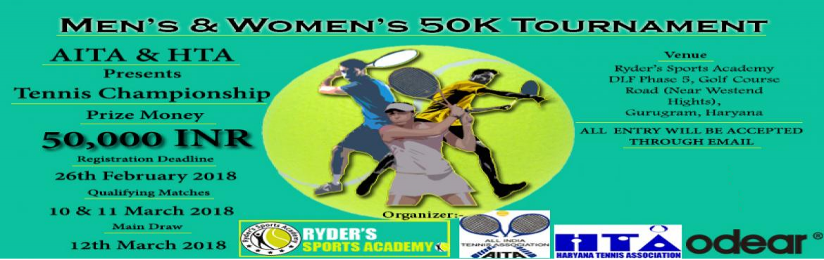 MENS AND WOMENS  50K TENNIS TOURNAMENT