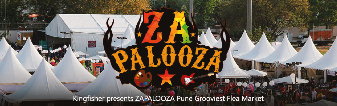 Book Online Tickets for 12th Edition of Kingfisher presents ZAPA, Pune.      Come and experience the best of  ART • MUSIC • FASHION • FLEA • FOOD  • Handmade #Quirk, #Kitsch and #Flea  • Live Music Bands, #Workshops, Food stalls   Kingfisher..... Kingfisher