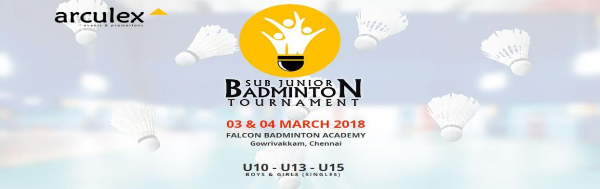 Book Online Tickets for Sub Junior Badminton Tournament - With A, Chennai. GAME RULES & TERMS    Point System ​Till Semi : 30 Points, Knock Out ​Semi & Finals : 21 Points, Best of 3 ​​ Terms ​Tournament is only for Beginners & Intermediates. ​Age Proof is Mandatory. ​Online Registrat