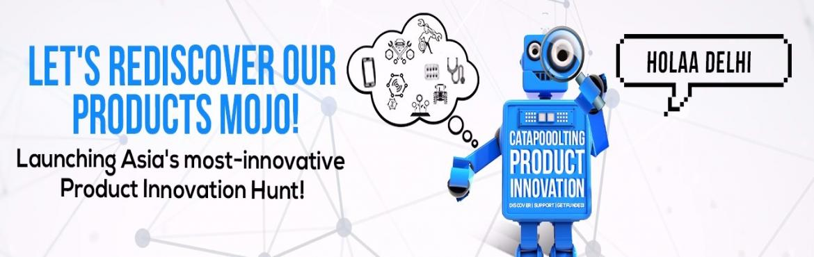 Book Online Tickets for Catapooolt Product Czars Delhi Event, New Delhi.   OVERVIEW    Catapooolt Product Czars in partnership with Business World and Amazon Launchpad is India\'s biggest product hunt - launched with the objective of inspiring & identifying some of the best product based innovations - a