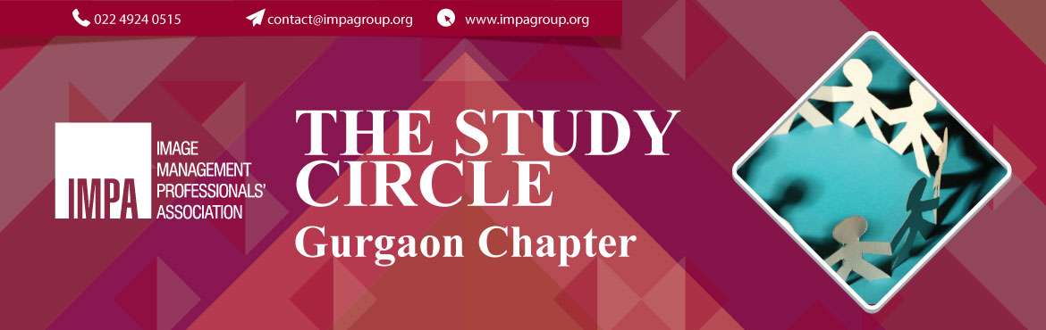 Book Online Tickets for Study Circle (Gurgaon) - Indian Cluster, Gurugram. About the expert We invite you to attend the first study circle organised by Gurgaon Chapter   Topic: Indian Cluster     Discussion Topics: Study Round - 1. Indian Cluster for Work for women of Delhi & Gurgaon2. Indian Cl
