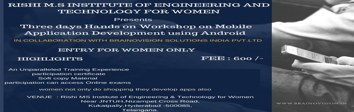 3 Day Android App Development Workshop