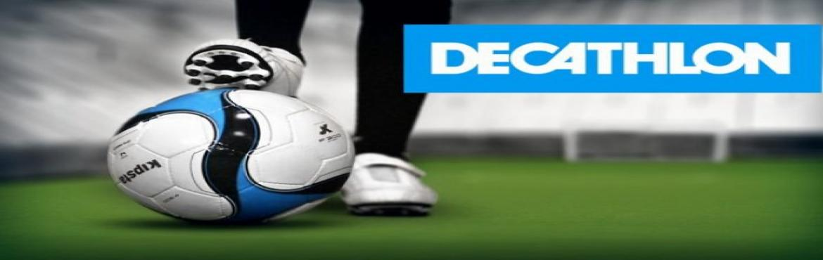 Book Online Tickets for Decathlon Football Tournament, Hyderabad. 5 A side Football Tournament at HOUFUT Gachibowli from 9th march 2018 regestration fee is 1000rs per team.
