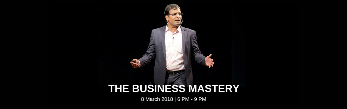 Book Online Tickets for The Business Mastery By BSR, Pune.      • Do you want to scale up your business but still not finding the way?   • Do you want to overcome the obstacles which will help your business run successfully?   • Do you feel your potential is not fully utilized?   • A