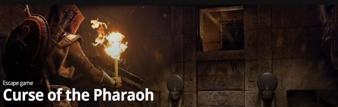 Book Online Tickets for Curse of the Pharaoh @ Breakout Escape G, Bengaluru.  According to an ancient Egyptian myth, Nefreko, the second son of Pharaoh Semerkhet, greedy for power, in about 2300 BCE casted a dark spell on the righteous heir to the throne of Egypt, Pharaoh Zurin, and turned him to stone.  You ar