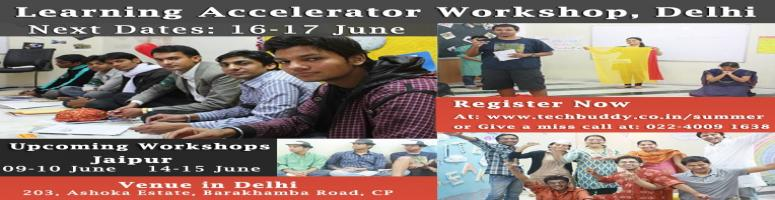 Learning Accelerator Workshop Delhi, Jaipur