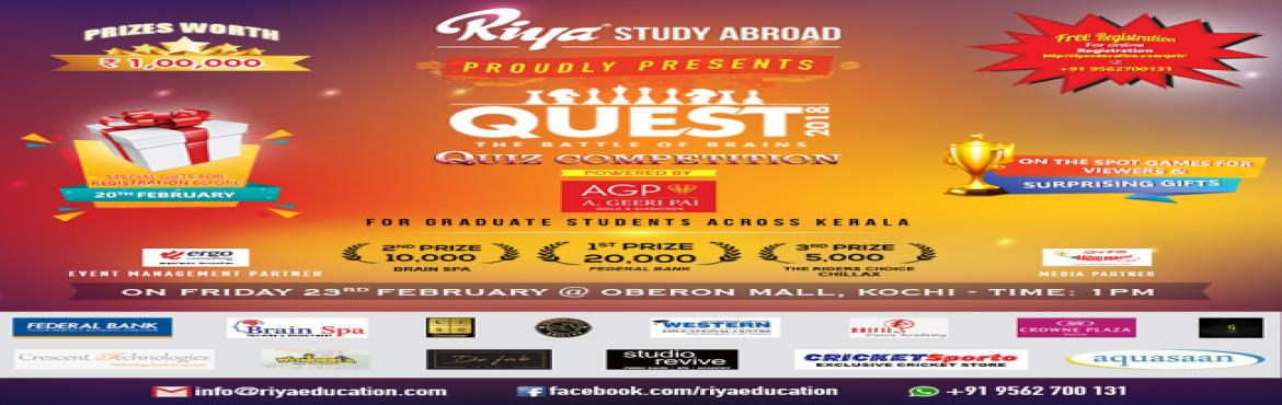 Riya Study Abroad Quiz Competition