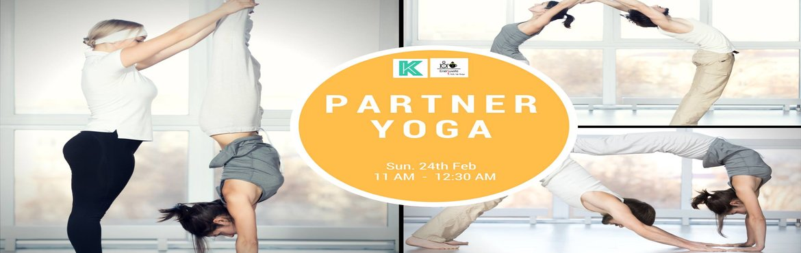 Book Online Tickets for Partner Yoga with Yash, Bangalore.  Partner yoga is a style of asana practice in which two people support each other in poses in a way that enhances the postures and builds trust and communication. Working with a partner provides balance in a pose while establishing and maintaini