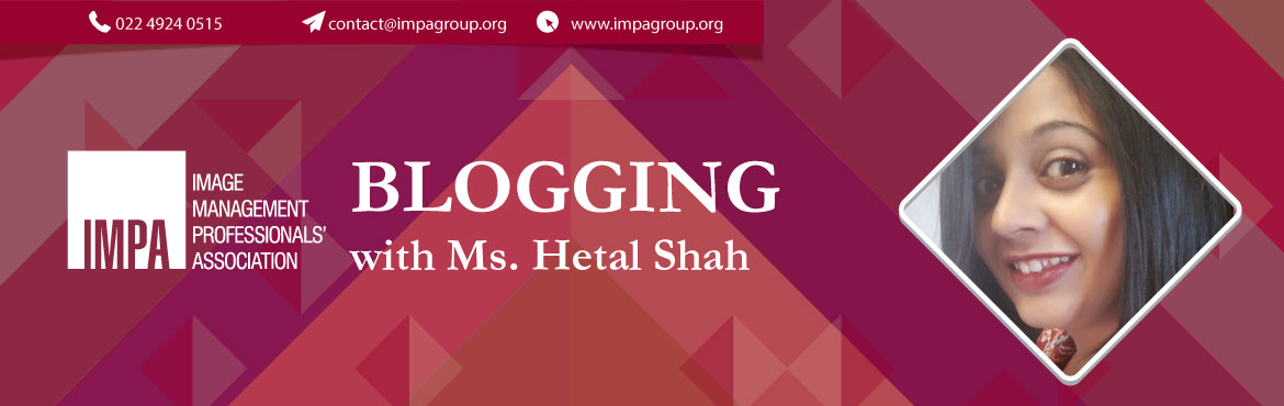 Book Online Tickets for Blogging with Hetal, Ahmedabad. About the expert   About Hetal Shah Fashion, Lifestyle and Beauty Blogger Hetal founded MyFashionVilla.com in the year 2011 when she discovered her love for fashion, beauty & lifestyle. In the last five years, it has grown to be one of the m