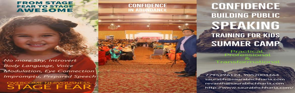 Book Online Tickets for Confidence Building Public Speaking Trai, Hyderabad. Are you a student struggling to speak out in front of people? Do you run away from presentations and speeches? Are you an introvert and struggle a lot to express your feelings to others? Are you looking for a Public Speaking Training in Hyderabad for