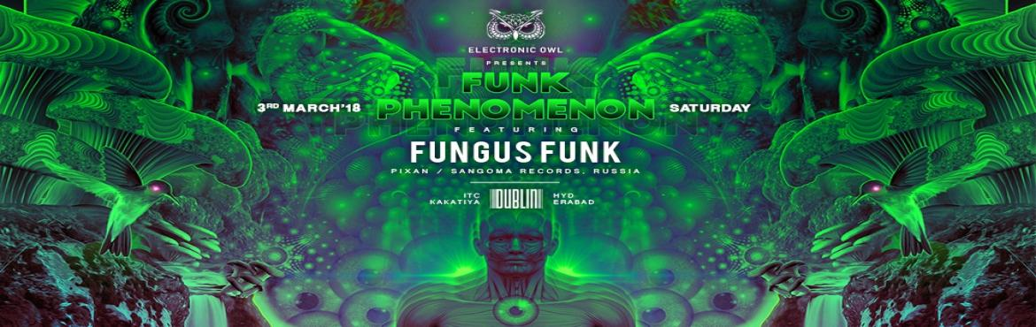 Book Online Tickets for Funk Phenomenon Feat Fungus Funk + Suppo, Hyderabad.   Featuring :- Fungus Funk is Sergei Prilepa, an established psychedelic trance musician from Moscow, Russia. Sergei started producing psytrance in 1998, and he has been releasing music since 2001.  Courtesy of his productive musical output and