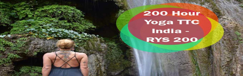 RYS 200 Hour Yoga Teacher Training in Rishikesh India