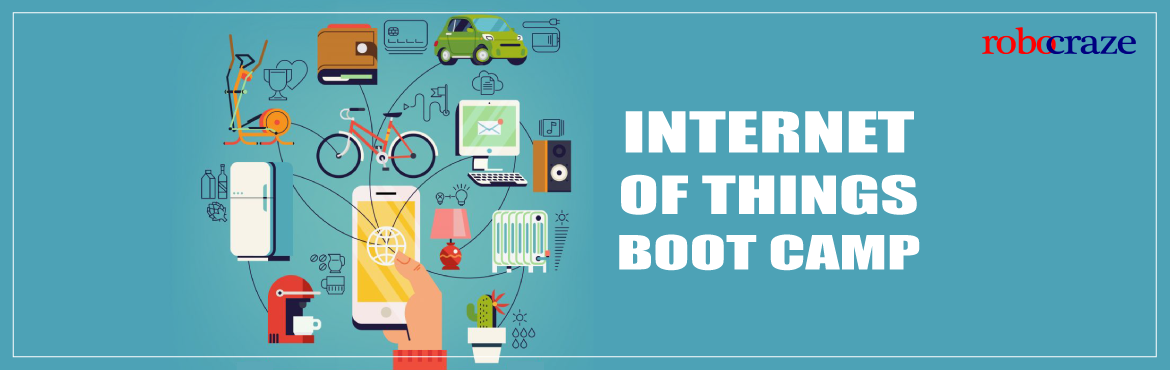 Book Online Tickets for IOT BOOT CAMP, Hyderabad. 'Internet of Things' is the next big thing hitting the industry in a big way. As per experts from CISCO, IoT will trigger $8 trillion in revenues over the course of next 10 years. Also Internet of Things – from smart home devices to