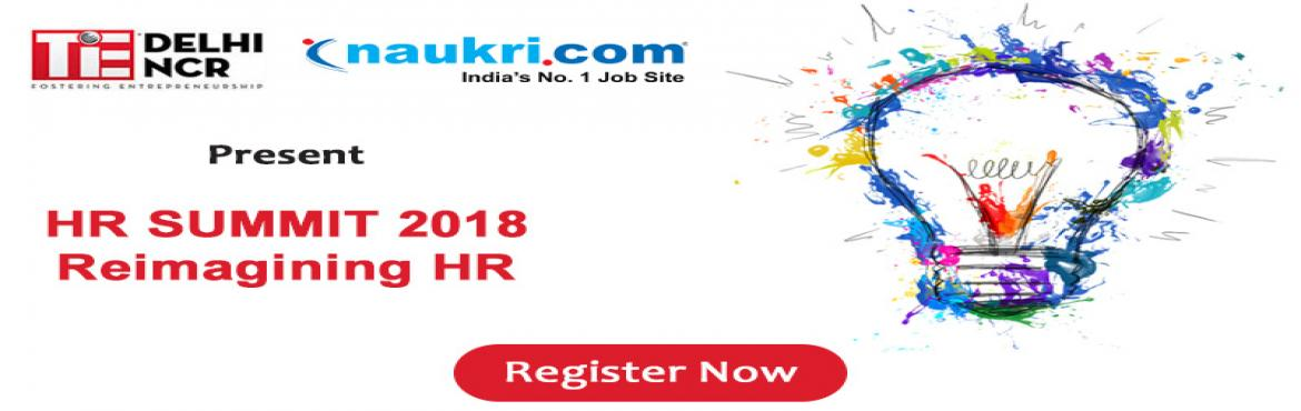 Book Online Tickets for TiE HR Summit 2018, New Delhi. The business landscape is changing. The modern workplace is in the midst of transformation. We are entering a time that many refer as the \'post-digital era\' - a mix of emerging technologies leading to new possibilities for businesses. This new era