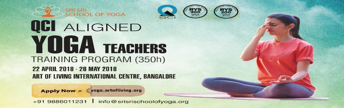 Book Online Tickets for Yoga Teachers Training Program, Bengaluru. This Summer Vacation invest some time in yourselfto  Immerse yourself in authentic yoga training and lifestyle Disconnect from distraction to reconnect with yourself Gain the tools you need to successfully teach yoga  Please f